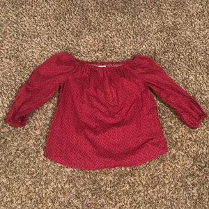 NWT Anthropologie Maeve Off the Shoulder Blouse
